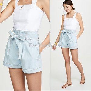 DL1961 Camile Shorts Paperbag Waist Mendocino